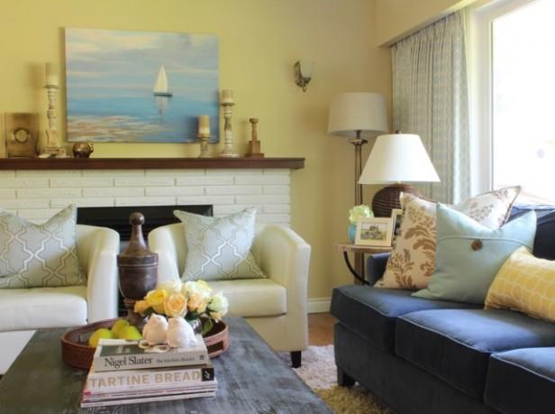 Yellow Living Room Decorating Ideas