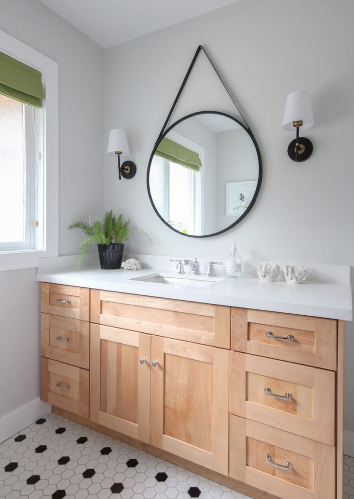 How To Decorate With Black In A Bathroom Don T Overdo It Maria Killam