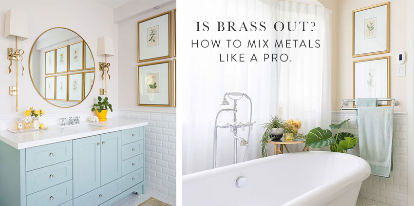 is brass out how to mix metals like a