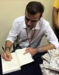 El escritor colombiano Jorge Franco es autor entre otros de los libros Rosario Tijeras y El reino desde afuera