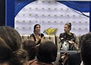 Presentación del libro Llamadme Alejandra de la escritora española Espido Freire