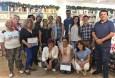 Taller de aforismos y microrrelatos brindado por el profesor y escritor peruano Luis Yslas ( 2017 )
