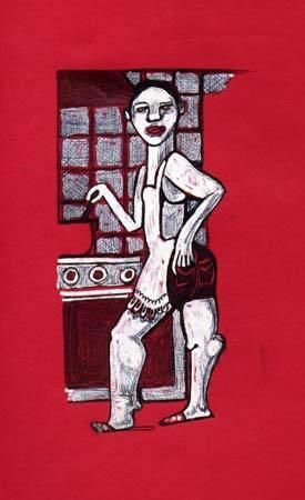Hombre En Cocina - 2003 (100€)