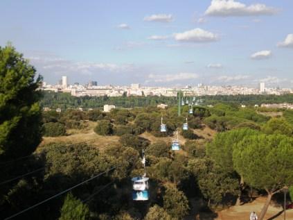 Vista desde la Terraza de la Casa de Campo
