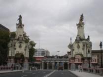 Puente María Cristina, en la ría de San Sebastián