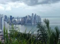 Vista de Panama city desde el Cerro Ancón