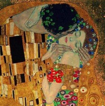 El-BESO The Kiss, from Gustav Klimt
