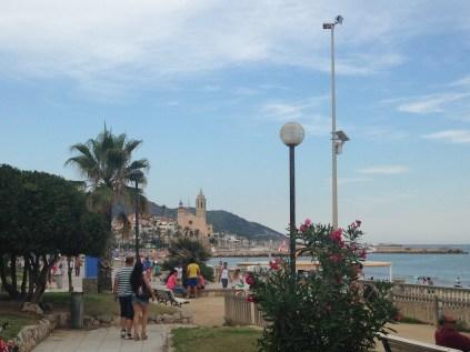 Paseo marítimo de Sitges