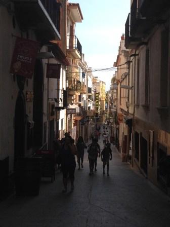 Calles del centro de Sitges