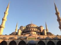 La Mezquita Azul desde el patio interior