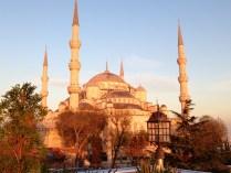 La Mezquita Azul de tarde