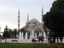La Mezquita Azul, símbolo de la ciudad
