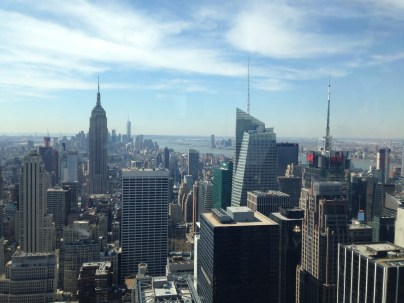 Skyline from Top of the Rock