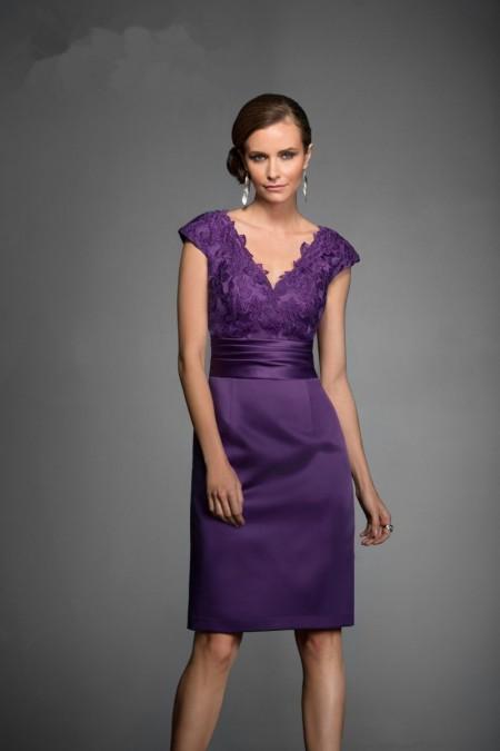 gorgeous-v-neck-knee-length-purple-lace-mother-of-the-bride-dress-b2ja0033-a