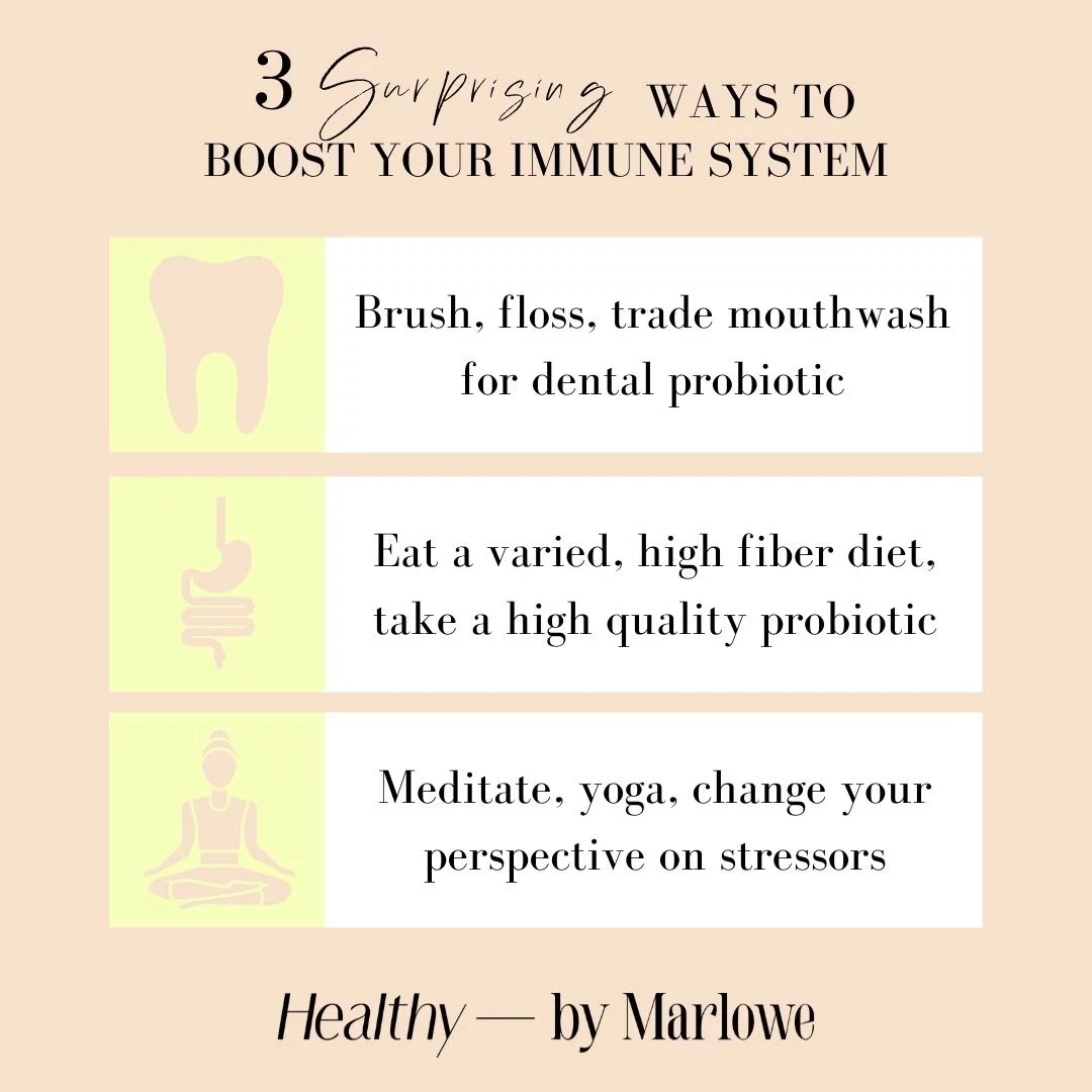3 Surprising Ways To Boost Your Immune System