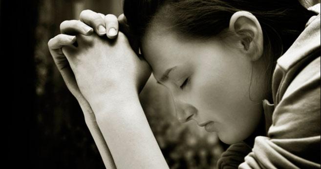 Oración para la curación.