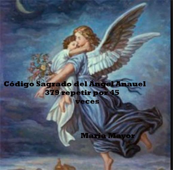 Código Sagrado del Ángel  Anauel.
