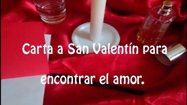 Carta-a-San-Valentín-para-encontrar-el-amor.