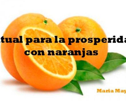 Ritual para la prosperidad con naranjas.