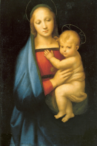 https://en.wikipedia.org/wiki/Madonna_(art)#/media/File:Raphael_Madonna_dell_Granduca.jpg