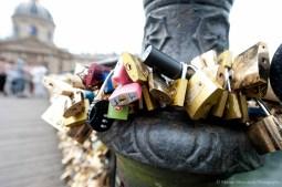 Paris - Le pont des amoureux