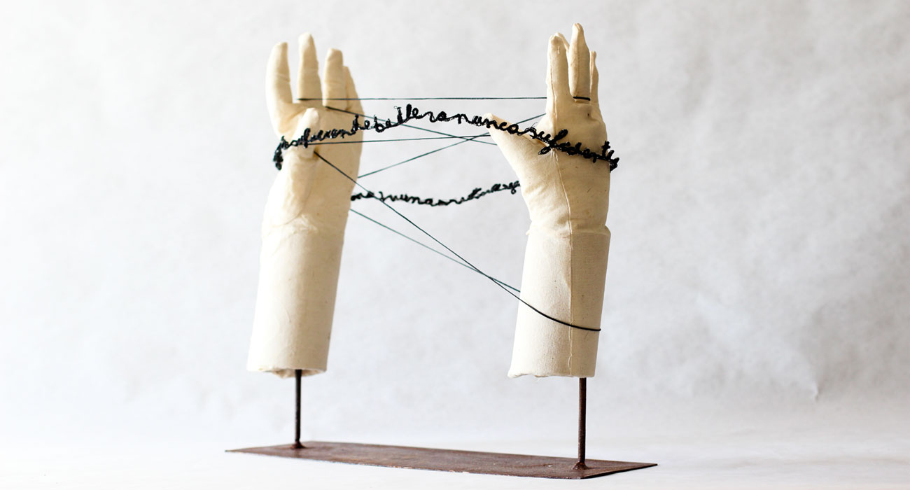 The Lines of my Hand (on stand)