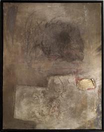 Antoni Tàpies (1923-2012) – Figura, paisaje en gris