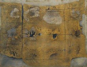 Antoni Tàpies (1923-2012) – Grand pintura – 1958