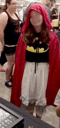 Little Bat Riding Hood!