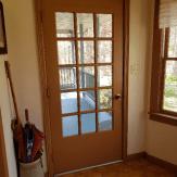 Door to outside.