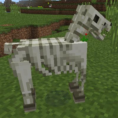 A dead horse.