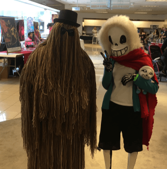 Cousin It and Sans