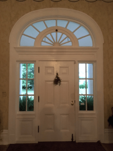 Inside of front door. Wowsers.