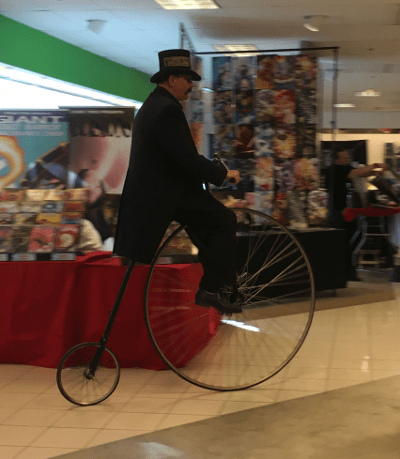 A penny-farthing!