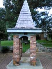 Some kinda bell thing. I missed the plaque. Sorree.