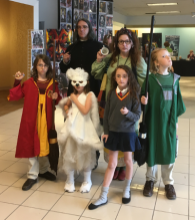 The family that cosplays together, stays together.