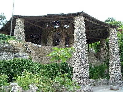 Sunken Garden house