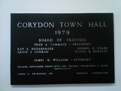 townhallplaque