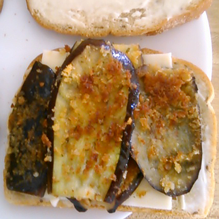 eggplant sammich