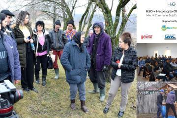 Apă potabilă pentru locuitorii din Mischii în cadrul proiectului H2O Water