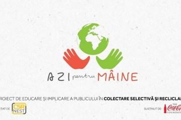 """Proiectul """"Azi pentru maine"""" despre colectarea selectiva a deseurilor menajere in comunitate"""