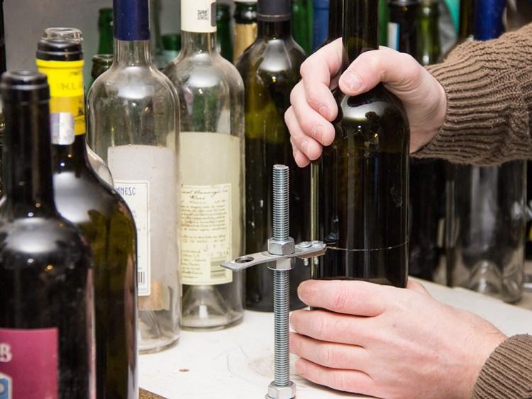 Reciclare creativă cu sticle