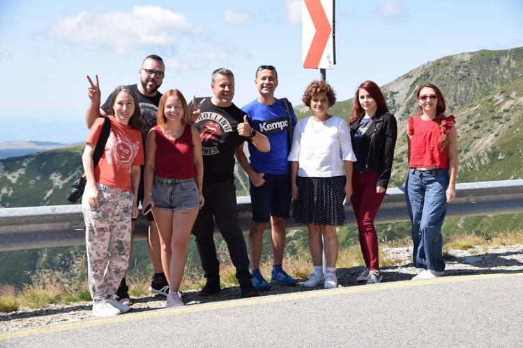 Bloggeri Olteni în cel mai înalt punct de pe Transalpina