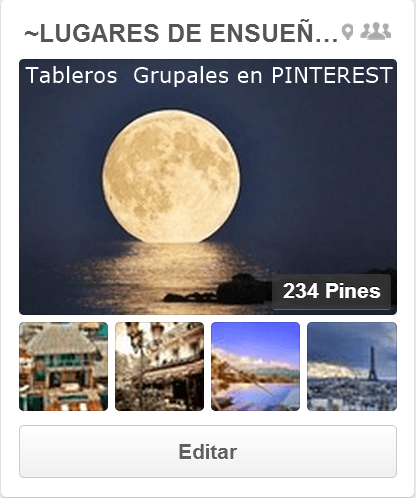 tablerosgrupalpinterestlugares