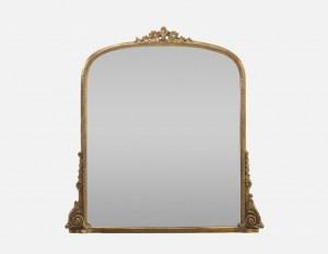 Anthropologie Gleaming Rose Mirror
