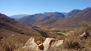 The view as you enter the Cederberg area