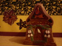 polymer clay house cane