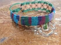 Macramé bracelet
