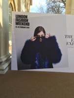 London Fashion weekend, (25 Feb. 2016), Trend catwalk. Photos by Marianna Nello.