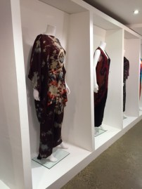 Marian Clayden dress exhibited at Fashion and Textile Museum, London (March 2016).